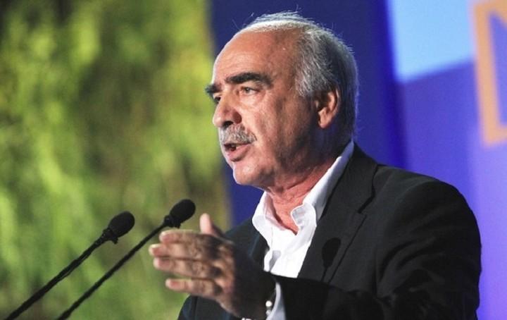 Μεϊμαράκης:«Με την βοήθειά σας τη Δευτέρα θα συγκροτήσουμε κυβέρνηση με κορμό τη ΝΔ»
