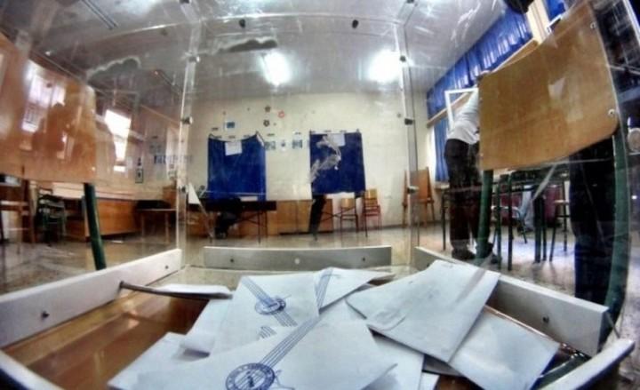 Ρεκόρ αποχής από τις εκλογές - Στα επίπεδα του 45,2%