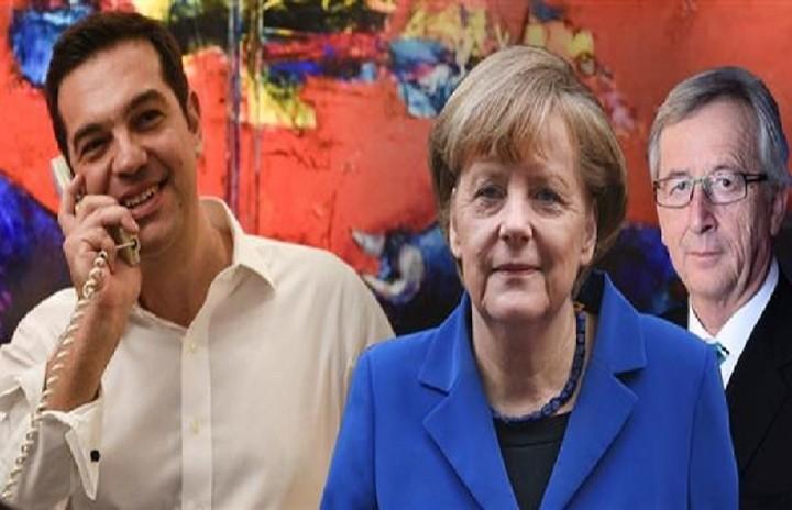 Συγχαρητήρια τηλεφωνήματα Μέρκελ-Γιούνκερ σε Τσίπρα