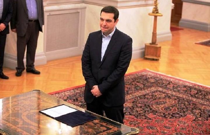 Ορκίστηκε πρωθυπουργός για δεύτερη μέσα στο 2015 ο Αλέξης Τσίπρας
