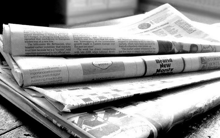 Οι εφημερίδες σήμερα (26.09.15)