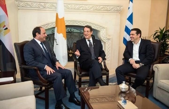 Ο πρωθυπουργός συναντήθηκε με τους προέδρους της Κύπρου και της Αιγύπτου