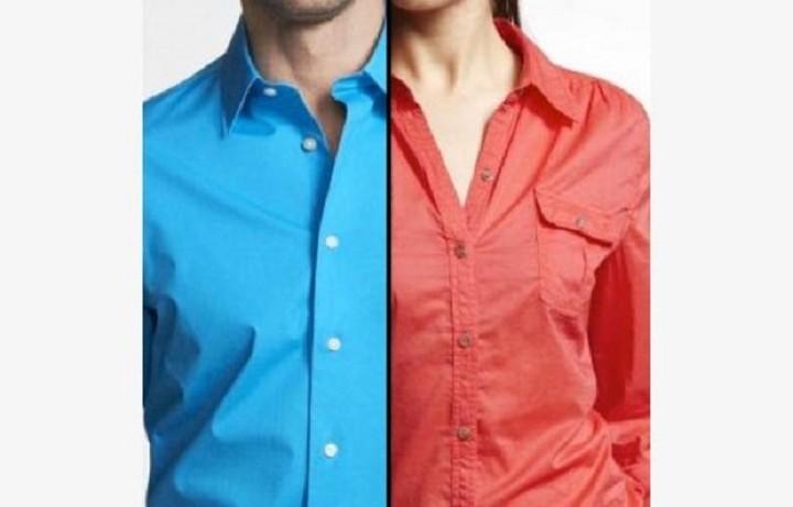 Γι αυτό τα κουμπιά στα ανδρικά πουκάμισα είναι δεξιά ενώ στα γυναικεία στα αριστερά