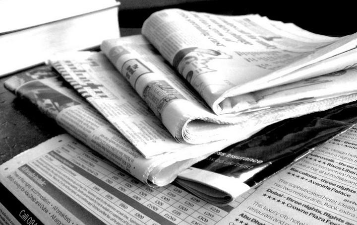 Οι εφημερίδες σήμερα Κυριακή (11.10.15)