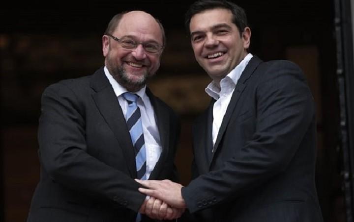 Τι συζήτησαν Τσίπρας - Σουλτς στη συνάντησή τους στις Βρυξέλλες