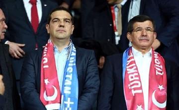 Συνάντηση Τσίπρα - Νταβούτογλου στον φιλικό αγώνα Τουρκίας – Ελλάδας