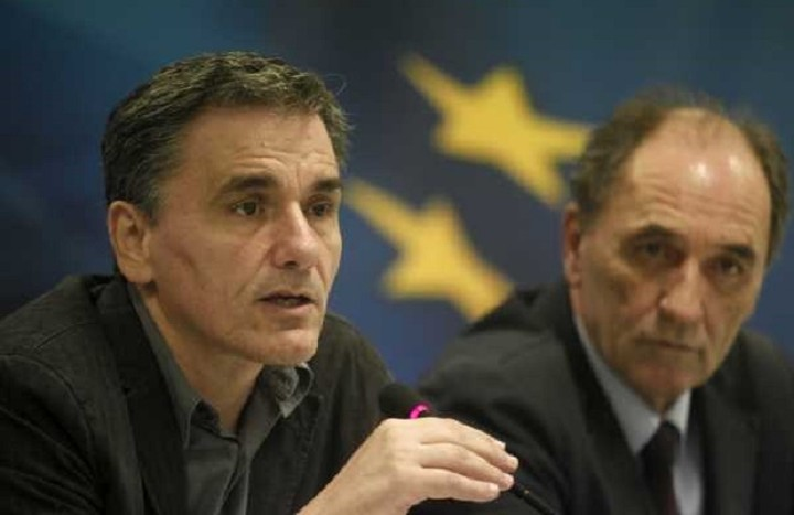Τσακαλώτος,Σταθάκης και Δραγασάκης ενημερώνουν την ΚΟ του ΣΥΡΙΖΑ για τα νέα μέτρα