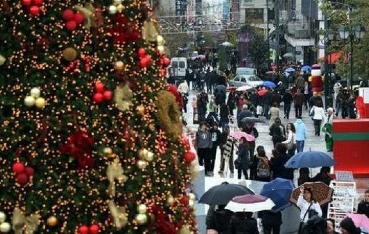 Από τις 12/12 ξεκινά το εορταστικό ωράριο