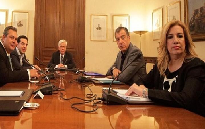Ολο το παρασκήνιο της άκαρπης σύσκεψης των πολιτικών αρχηγών - Οι διάλογοι «φωτιά» και οι ανακοινώσεις των κομμάτων