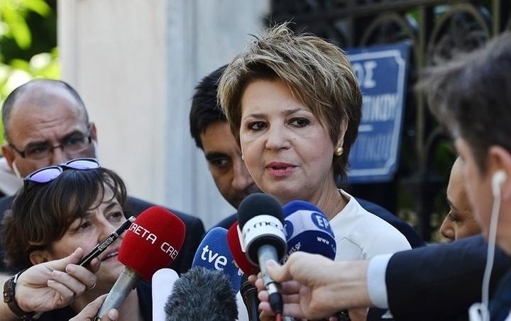Γεροβασίλη: Δεν υπάρχει θέμα εξόδου της Ελλάδας από τη Σένγκεν