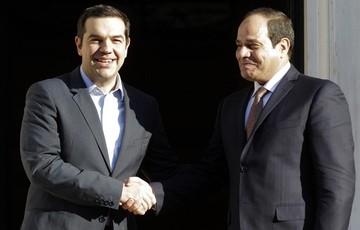 Υπεγράφησαν συμφωνίες μεταξύ  Ελλάδας - Αιγύπτου