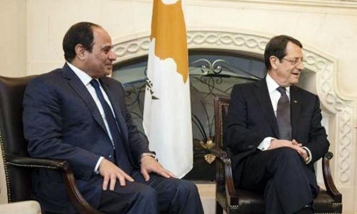 Ολοκληρώθηκε η συνάντηση Αναστασιάδη - Αλ Σίσι