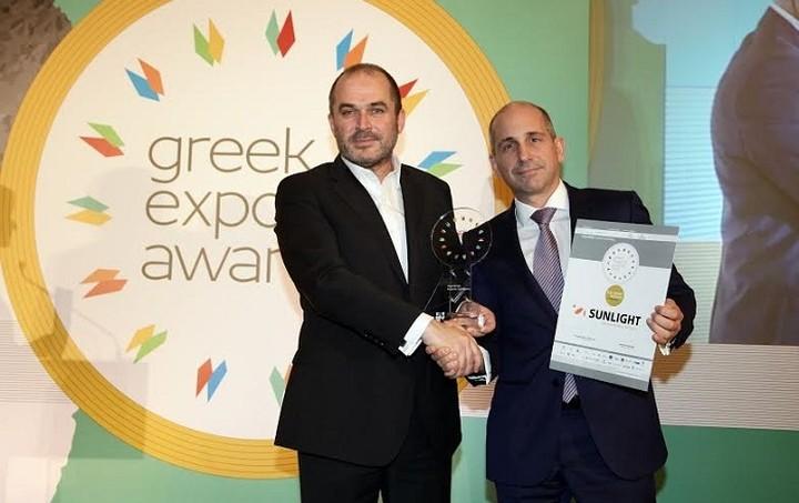 """Δύο κορυφαίες διακρίσεις για τη """"Συστήματα Sunlight"""" στα Greek Exports Awards"""