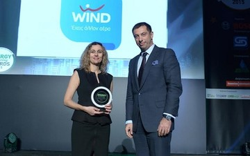 Με δύο Silver βραβεία τιμήθηκε η WIND