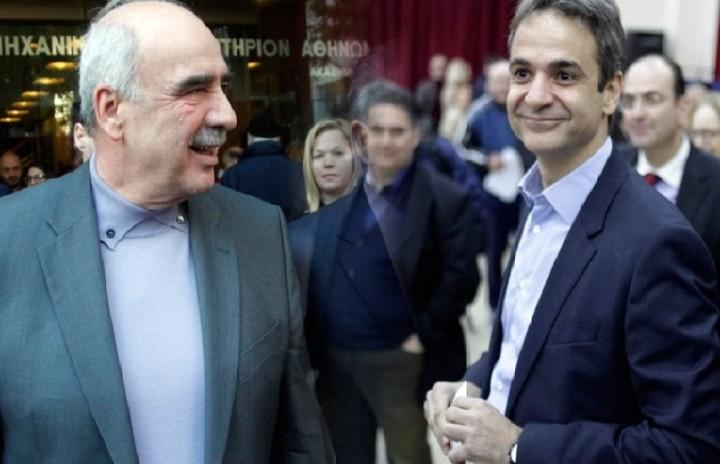 Μεϊμαράκης - Μητσοτάκης στον β' γύρο των εκλογών της ΝΔ