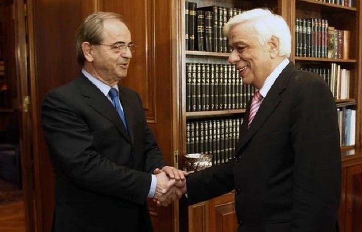 Συνάντηση Παυλόπουλου με τον Πρόεδρο της Επιτροπής Κεφαλαιαγοράς