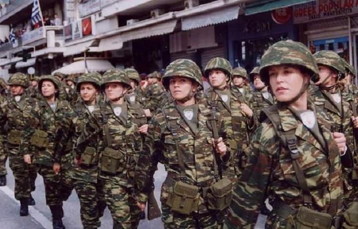 Αντιπαράθεση ΑΝΕΛ - Ποταμιού για την στρατιωτική θητεία γυναικών