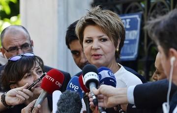 Γεροβασίλη: Η κυβέρνηση δεν μειώνει ούτε ένα ευρώ τις κύριες και επικουρικές συντάξεις