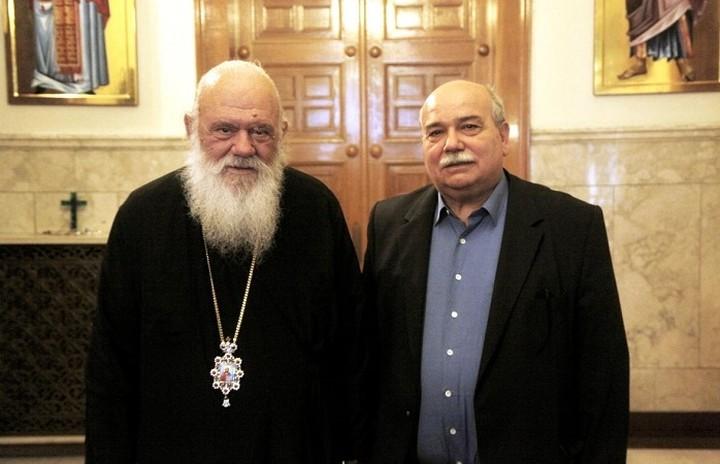 Τον αρχιεπίσκοπο Ιερώνυμο επισκέφτηκαν Βούτσης και Αποστόλου