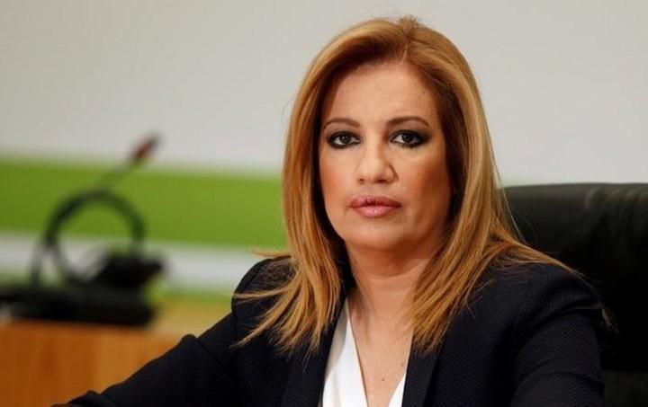 Η Γεννηματά για τη στάση της κυβέρνησης απέναντι στην επένδυση της Eldorado