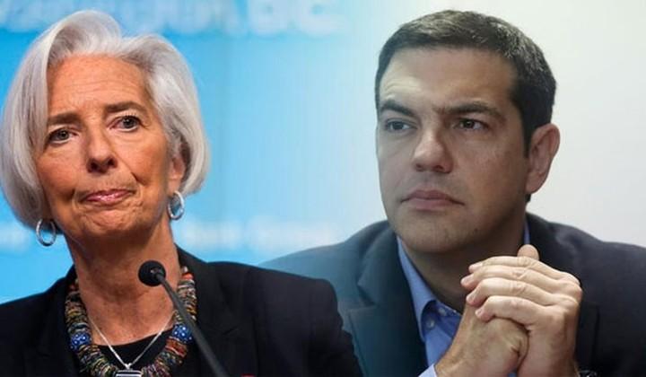 ΔΝΤ: Έχει σχεδιαστεί συνάντηση Τσίπρα -Λαγκάρντ την επόμενη εβδομάδα