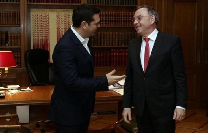 Συνάντηση Τσίπρα με τον υπουργό Οικονομικών της Βόρειας Ρηνανίας - Βεστφαλίας