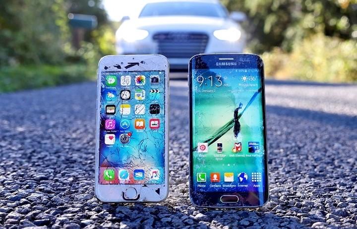 Crash Test: Ποιο θα αντέξει το iPhone 6S ή το Samsung Galaxy S6 Edge (ΒΙΝΤΕΟ)