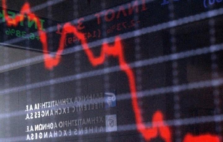 Με ισχυρές απώλειες 5,70% έκλεισε το Χρηματιστήριο Αθηνών