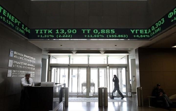 Με άνοδο 2,17% έκλεισε το Χρηματιστήριο Αθηνών