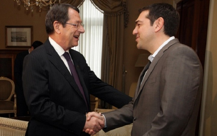 Κυπριακό και συνεργασία Ελλάδας-Κύπρου στη συνάντηση Τσίπρα- Αναστασιάδη