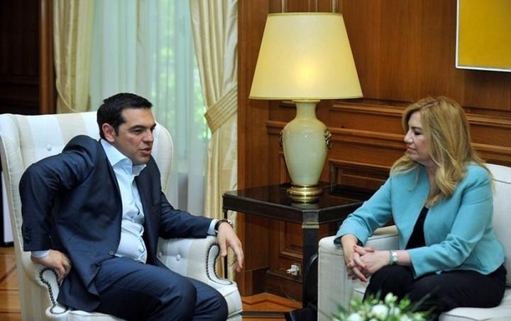 Εθνικό θέμα το προσφυγικό, συμφώνησαν Τσίπρας - Γεννηματά