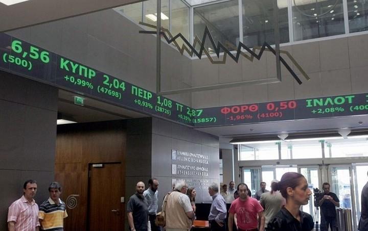 «Κραχ» στο Χρηματιστήριο Αθηνών - Πτώση 3,83%