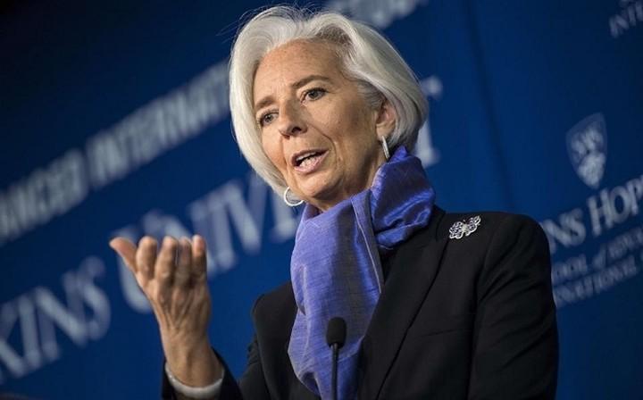 Λαγκάρντ: Να λάβουν μέτρα ενίσχυσης της ανάπτυξης οι αναπτυγμένες οικονομίες