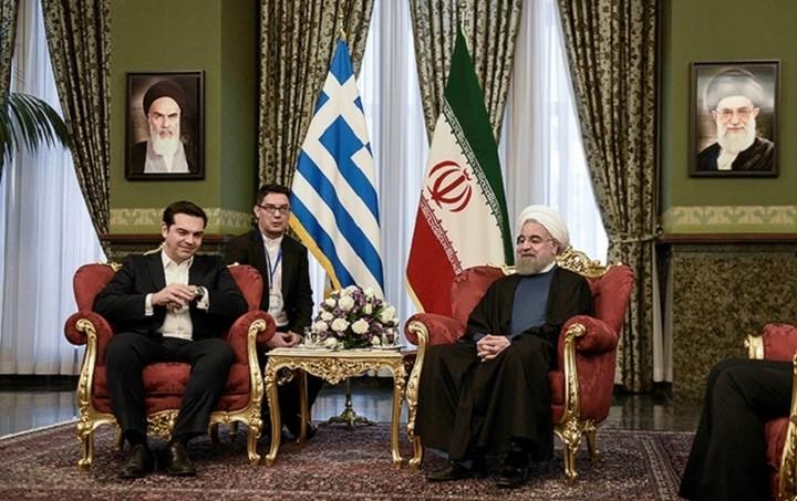 Τσίπρας: Αναβάθμιση της συνεργασίας Ιράν-Ελλάδας