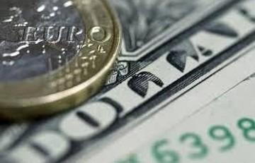 Έντονες διακυμάνσεις εμφανίζει σήμερα η ισοτιμία ευρώ - δολαρίου