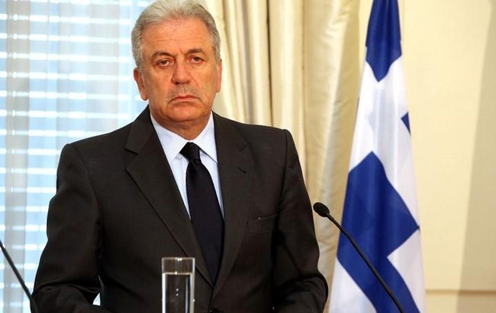Αβραμόπουλος: Δεν τέθηκε ποτέ θέμα εξόδου χώρας της ΕΕ από τη Σένγκεν
