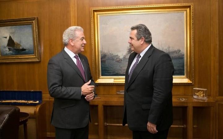 Συναντήθηκε Αβραμόπουλος-Καμμένος στις Βρυξέλλες