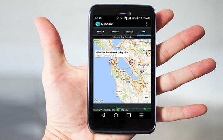 Εφαρμογή σε κινητό σε προειδοποιεί για σεισμό!
