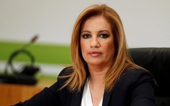 Συνάντηση πολιτικών αρχηγών υπό τον ΠτΔ ζήτησε η Γεννηματά