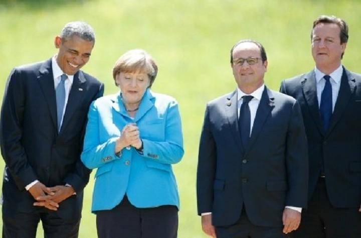Το προσφυγικό συζητήθηκε στην τηλεδιάσκεψη κορυφής Μέρκελ-Ομπάμα-Κάμερον-Ολάντ