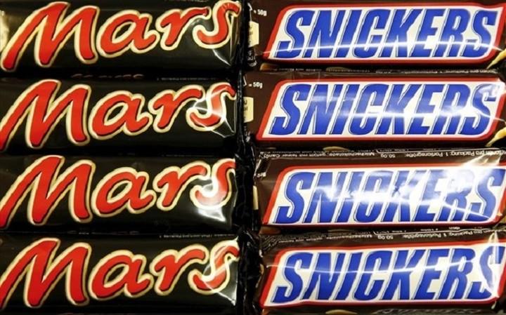 Ο ΕΦΕΤ για την ανάκληση των προϊόντων Mars και Snickers