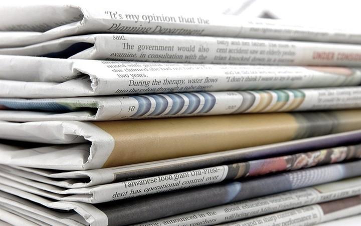 Οι Κυριακάτικες εφημερίδες σήμερα