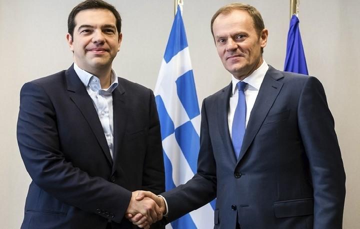 Τουσκ: Η Ελλάδα έχει αναλάβει δυσανάλογο βάρος με τις δυνάμεις της