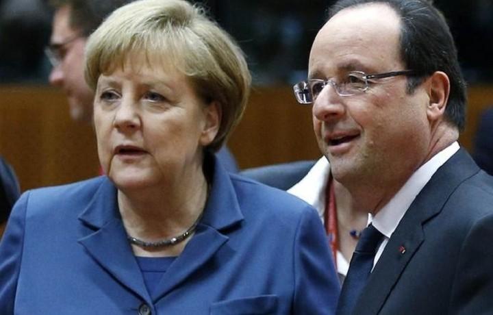 Μέρκελ - Ολάντ: Στόχος μας είναι να βάλουμε τη συνθήκη Σένγκεν σε τάξη