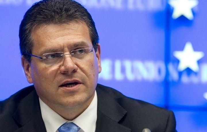 Στην Αθήνα ο επίτροπος για τα ενεργειακά Maros Sefcovic την Πέμπτη