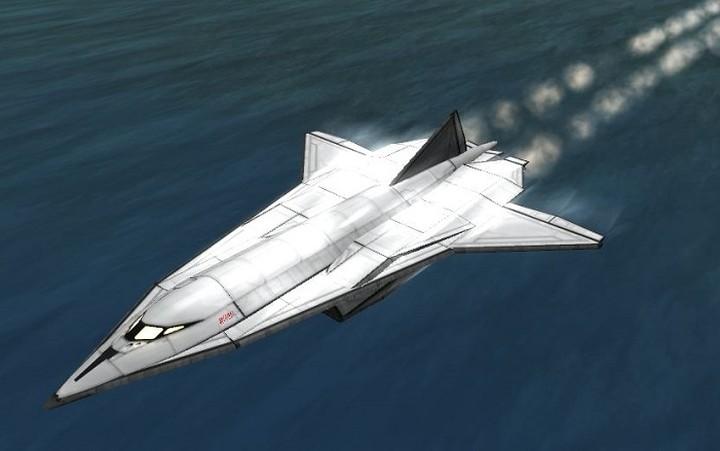 Νέο υπερηχητικό αεροσκάφος σπάει 6 φορές το φράγμα του ήχου