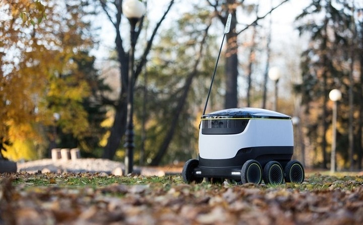 Έρχονται οι ταχυδρόμοι - ρομπότ - Θα κατακλείσουν τις μεγαλουπόλεις