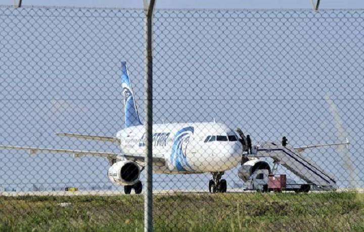 Αίσιο τέλος για την αεροπειρατία στην Κύπρο -Συνελήφθη ο αεροπειρατής