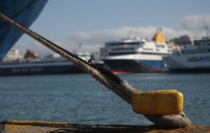 Δεμένα τα πλοία την Παρασκευή στα λιμάνια της χώρας