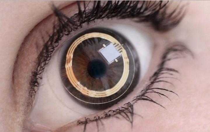 Ενσωματωμένη κάμερα σε ...φακούς επαφής!
